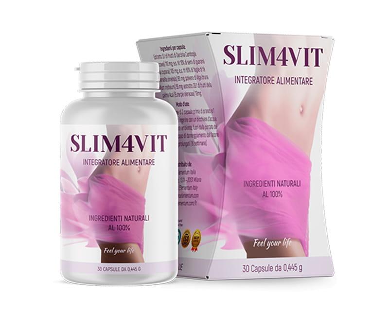 Slim4vit eliminerà il grasso in eccesso in poco tempo!