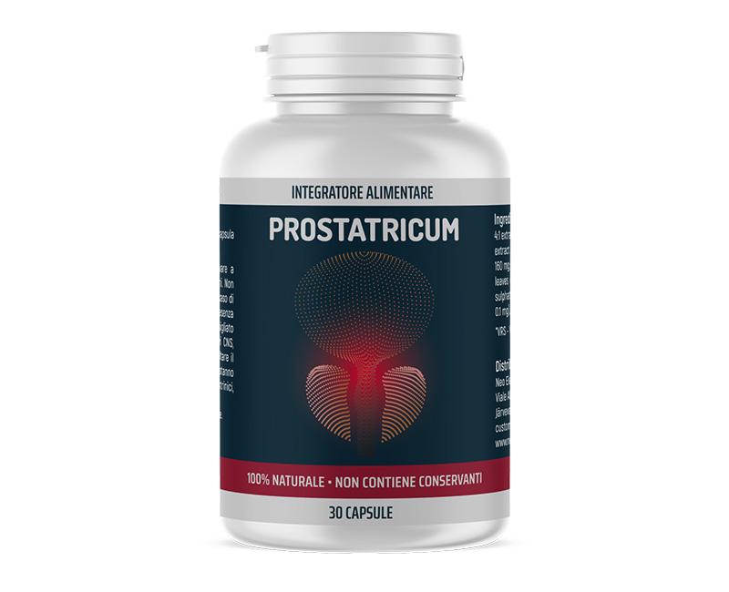 Prostatricum è il trattamento in capsule con cui puoi eliminare la prostatite e prevenirne la comparsa.